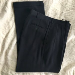 Polo wool pants